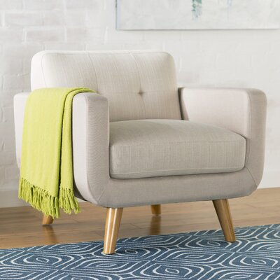 Mercury Row Cressida Tufted Arm Chair