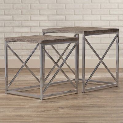 Mercer41 Derringer 2 Piece Nesting Tables