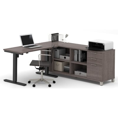 Mercury Row Ariana L-Shape Desk Office Su..