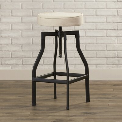 Mercury Row Aaden Adjustable Height Swivel Bar Stool