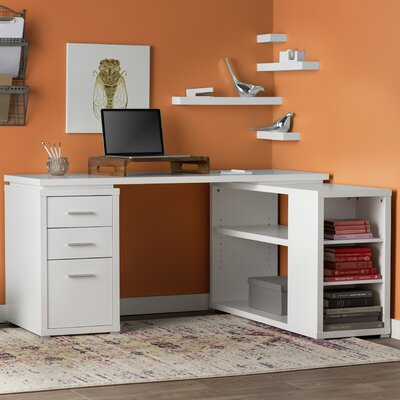 Mercury Row Senga Down 3 Drawer Computer Desk