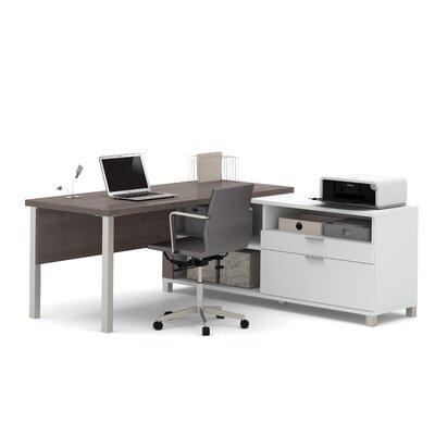 Mercury Row Ariana 2-Piece L-Shape Desk O..