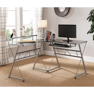 Mercury Row Adan Computer Desk with Keybo..