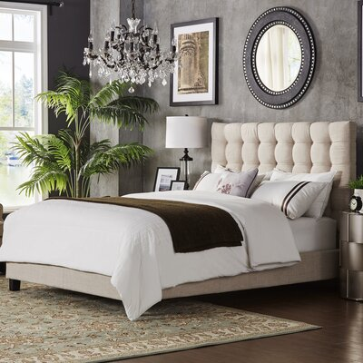 Mercury Row Cacho Upholstered Panel Bed