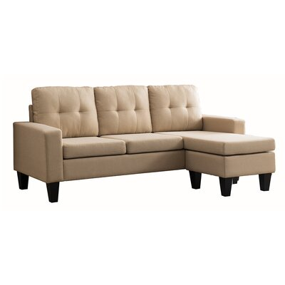 Tremendous Mercury Row Briley Reversible Chaise Sectional 6Eevuem Inzonedesignstudio Interior Chair Design Inzonedesignstudiocom