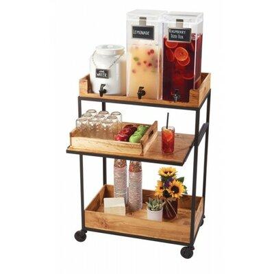 Cal-Mil Madera Beverage Cart