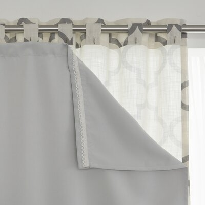 Best Home Fashion Inc Blackout Curtain Liner Reviews Wayfair
