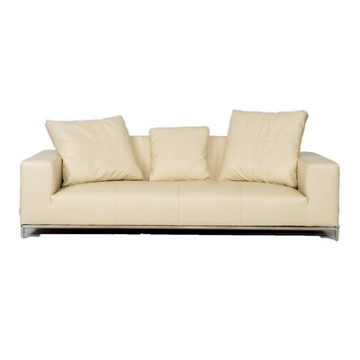 Designer Casa Lounge Leather Sofa