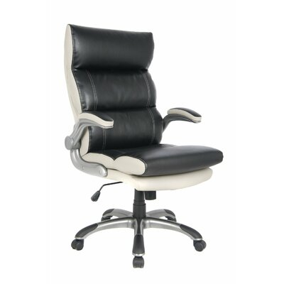Viva Office Luxury High-Back Leather Executive Chair