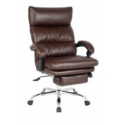 Viva Office High-Back Leather Executive C..