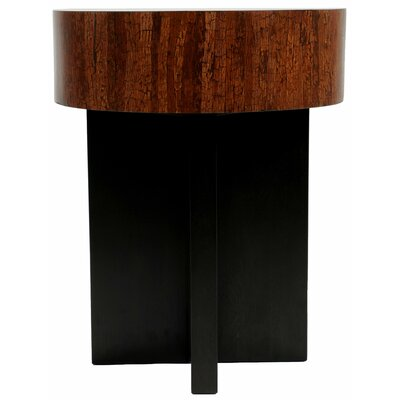 Indo Puri Block Axis End Table