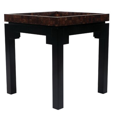 Indo Puri Kan Coco Square End Table
