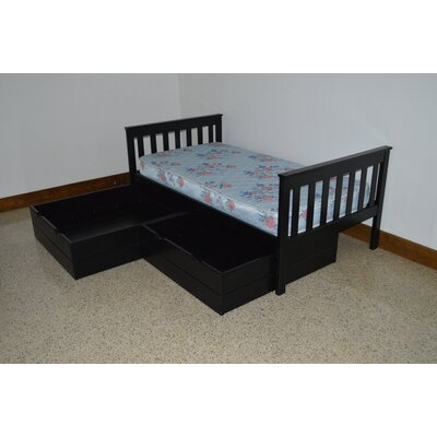 A&L Furniture 2 Piece Underbed Storage Drawer Set