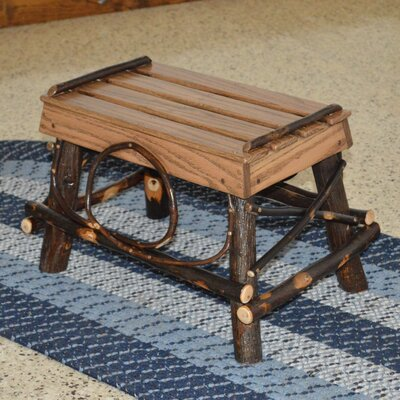 A&L Furniture Hickory Footstool Image