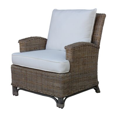 Panama Jack Sunroom Exuma Lounge Chair with Cushion
