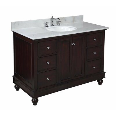 kbc bella 48 quot single bathroom vanity set amp reviews wayfair