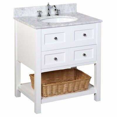 KBC New Yorker 30 Single Bathroom Vanity Set Reviews Wayfair