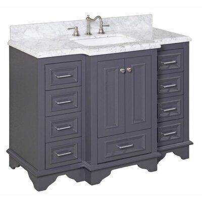 Kbc Nantucket 48 Single Bathroom Vanity Set Reviews Wayfair