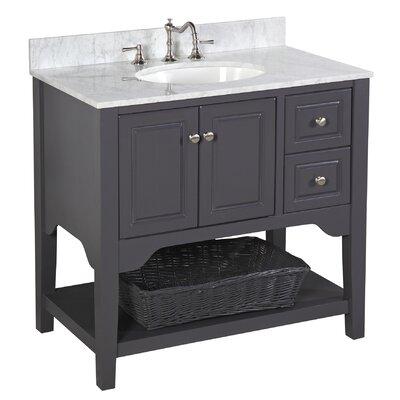 Kbc washington 36 single bathroom vanity set reviews for Bathroom vanities washington ave philadelphia
