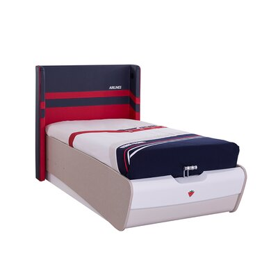 Cilek First Class Airplane Twin Panel Bed with Storage