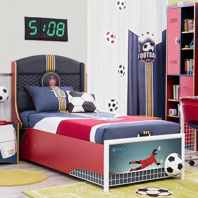 Cilek Soccer Twin Panel Customizable Bedroom Set