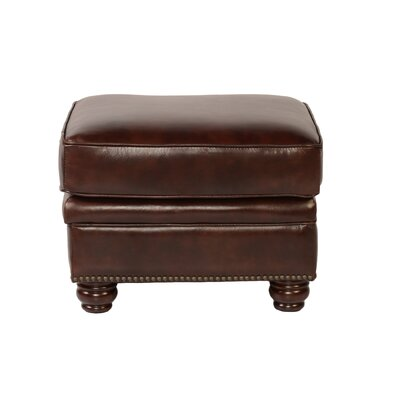 Lazzaro Leather Appalachian Ottoman