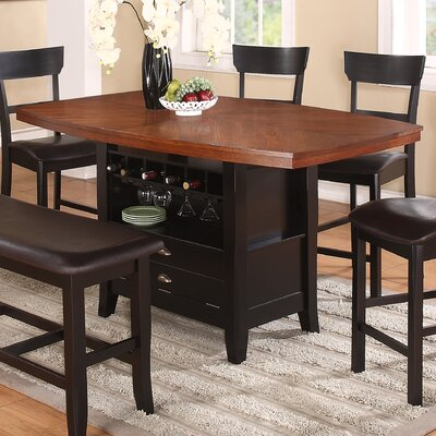Red Barrel Studio Wachusett Counter Height Dining Table
