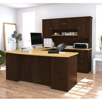 Red Barrel Studio Independence Executive Desk with Hutch