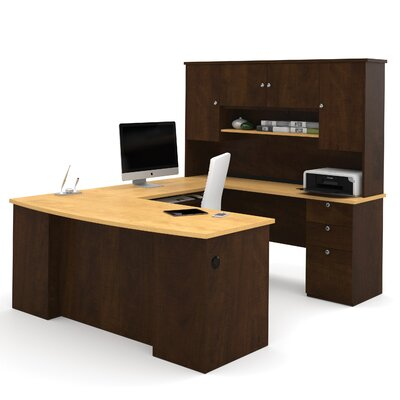 Red Barrel Studio Independence 3-Piece U-Shaped Desk Office Suite
