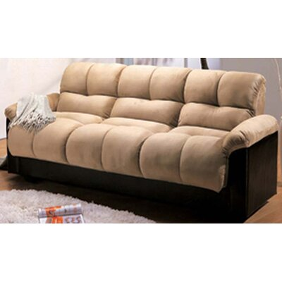 Red Barrel Studio Ocelot Storage Futon and Mattress