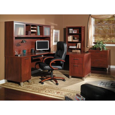 Red Barrel Studio 4 Piece L-Shape Desk Of..