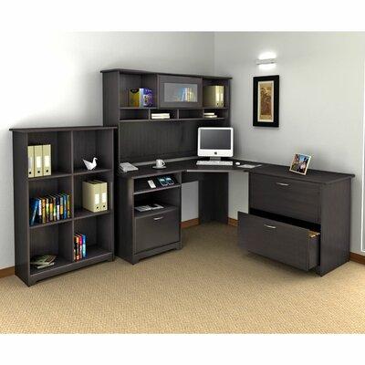 Red Barrel Studio Capital 3-Piece L-Shape Desk Office Suite
