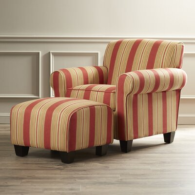 Red Barrel Studio Raven Chair and Ottoman