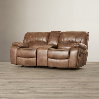 Red Barrel Studio Hattiesburg Dual Rocking Reclining Loveseat
