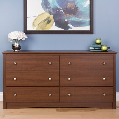 Red Barrel Studio Yards 6 Drawer Dresser