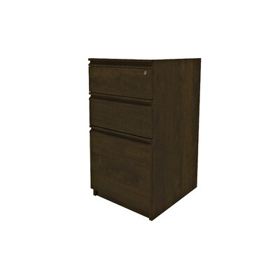 Red Barrel Studio Bormann 3-Drawer Vertical File