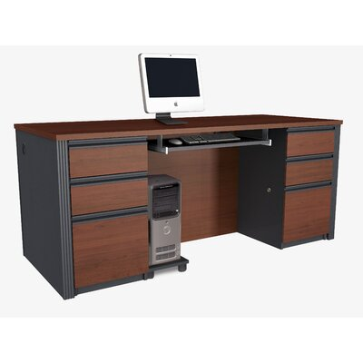 Red Barrel Studio Bormann Standard Desk Office Suite