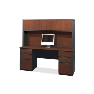 Red Barrel Studio Bormann Computer Desk with Hutch