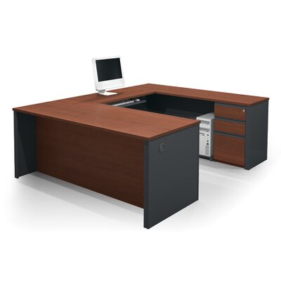 Red Barrel Studio Bormann U-Shape Desk Office Suite
