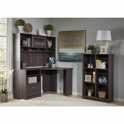 Red Barrel Studio Capital 3-Piece L-Shape Desk Office Suite