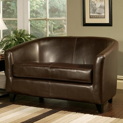 Red Barrel Studio  RDBS3385 Altamont Leather Loveseat