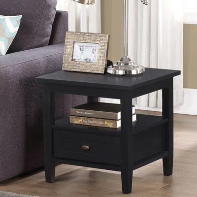 Red Barrel Studio Bruno 1 Drawer End Table