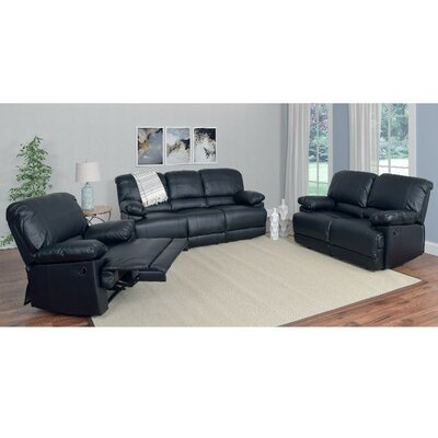 Red Barrel Studio Condron 3 Piece Reclining Sofa..