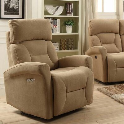 Red Barrel Studio Crippen Swivel Power Glider Reclining