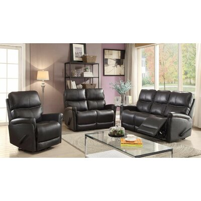 Red Barrel Studio Maywood 3 Piece Reclining Living Room Set