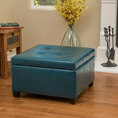 Red Barrel Studio Massey Faux Leather Storage Ottoman Reviews