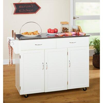 Danbury Rolling Kitchen Cart Reviews Joss Main