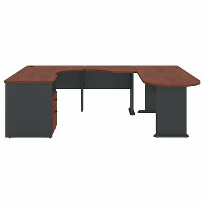 Bush Business Furniture Series A Expandable U-Station Executive Desk