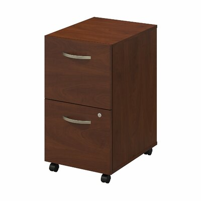 Bush Business Furniture Series C Elite 2 Drawer Mobile Pedestal