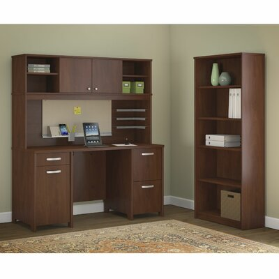 Bush Business Furniture Envoy 3-Piece Standard Desk Office Suite